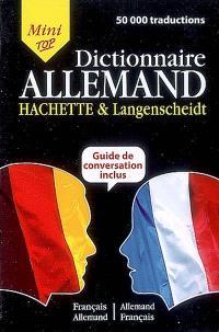 Mini-dictionnaire français-allemand, allemand-français