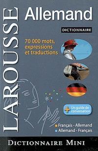 Mini-dictionnaire français-allemand, allemand-français = Mini-Wörterbuch Französisch-Deutsch, Deutsch-Französisch
