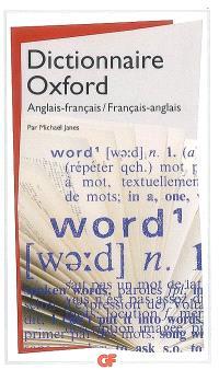 Dictionnaire de poche Oxford : français-anglais, anglais-français
