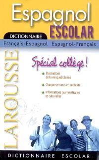 Dictionnaire français-espagnol, espagnol-français = Diccionario francés-espanol, espanol-francés