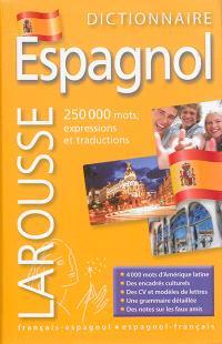 Dictionnaire espagnol : français-espagnol, espagnol-français