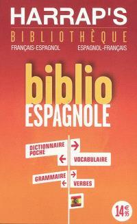 Biblio espagnole : bibliothèque français-espagnol, espagnol-français