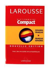 Dictionnaire compact espagnol-français, français-espagnol : avec des encadrés encyclopédiques