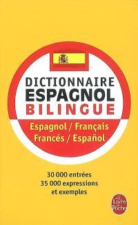Dictionnaire de poche espagnol : espagnol-français, français-espagnol