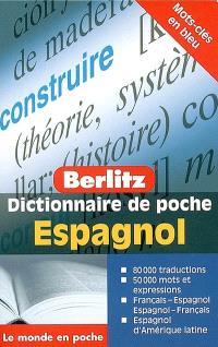 Dictionnaire de poche espagnol : français-espagnol, espagnol-français