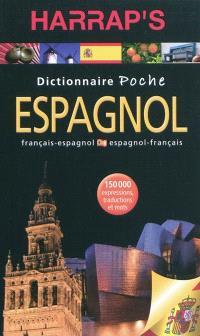 Dictionnaire poche Harrap's espagnol : espagnol-français, français-espagnol
