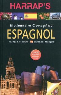 Harrap's compact espagnol : dictionnaire français-espagnol, espanol-francés