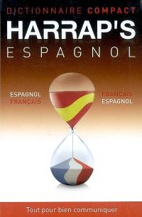 Harrap's compact espagnol : français-espagnol, espanol-francés