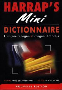 Harrap's mini : dictionnaire français-espagnol, espagnol-français
