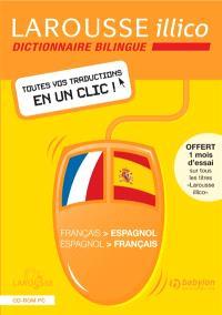 Larousse illico français-espagnol, espagnol-français