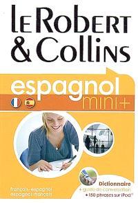 Le Robert & Collins espagnol, français-espagnol, espagnol-français : dictionnaire, guide de conversation + 150 phrases sur iPod