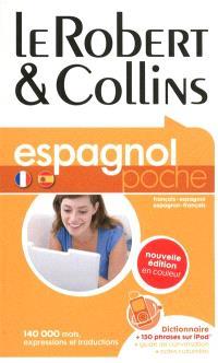 Le Robert & Collins poche espagnol : français-espagnol, espagnol-français