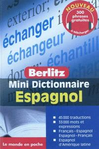 Mini dictionnaire espagnol : français-espagnol, espagnol-français