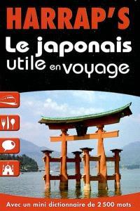 Le japonais utile en voyage