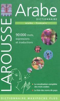 Dictionnaire arabe : arabe-français