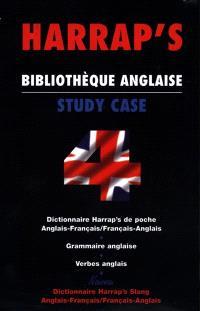 Harrap's pour lycéens et étudiants : bibliothèque anglaise, study case