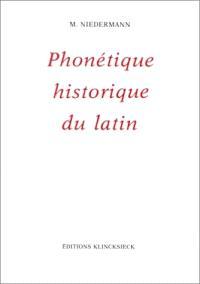 Précis de phonétique historique du latin