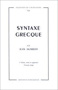 Syntaxe grecque