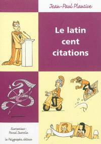 Le latin cent citations
