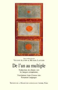 De l'un au multiple : traductions du chinois vers les langues européennes