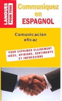 Communiquez en espagnol : livre + cassettes