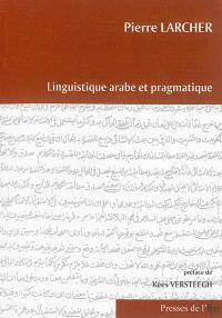 Linguistique arabe et pragmatique