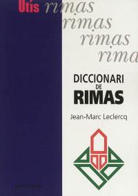 Diccionari de rimas