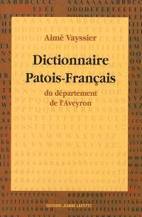 Dictionnaire patois-français du département de l'Aveyron