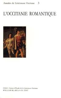 L'Occitanie romantique : actes de colloque, sept. 1994, Pau