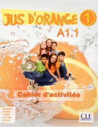 Jus d'orange 1 : A1.1 : cahier d'activités