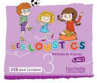 Les loustics 3 : 3 CD pour la classe