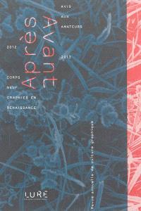 Après-avant : revue annuelle de culture graphique. n° 1, 2012-2013