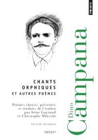 Chants orphiques : et autres poèmes