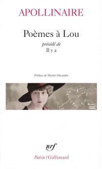 Poèmes à Lou; Il y a