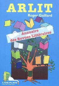 Arlit : annuaire des revues littéraires