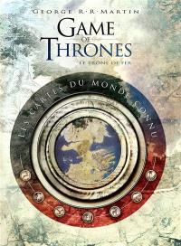 Game of thrones, le trône de fer : les cartes du monde connu