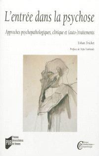 L'entrée dans la psychose : approches psychopathologiques, clinique et (auto-)traitements