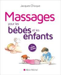 Massages pour les bébés et les enfants : de 1 mois à 10 ans