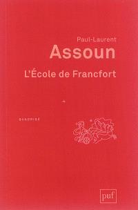 L'école de Francfort