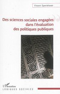 Des sciences sociales engagées dans l'évaluation des politiques publiques