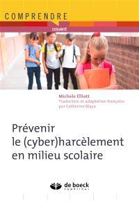 Prévenir le (cyber)harcèlement en milieu scolaire