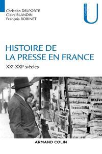 Histoire de la presse en France, XXe-XXIe siècles