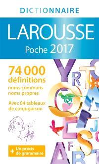 Dictionnaire Larousse poche 2017