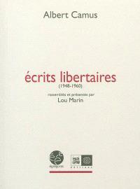 Ecrits libertaires : 1948-1960