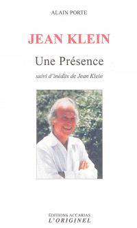 Jean Klein : une présence : portrait d'un chercheur de vérité