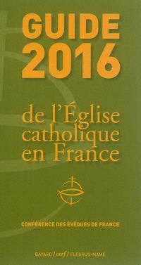 Guide 2016 de l'Eglise catholique en France