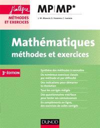 Mathématiques, méthodes et exercices MP-MP*