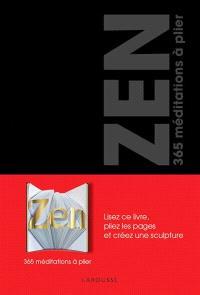 Zen : 365 méditations à plier