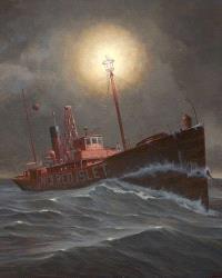 Les bateaux-phares du Saint-Laurent  : en aval de Québec : 1830-1963