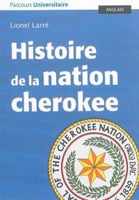 Histoire de la nation cherokee